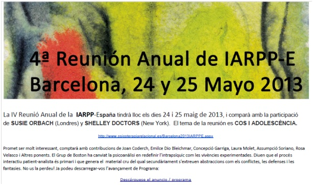congres iarpp bcn 2013